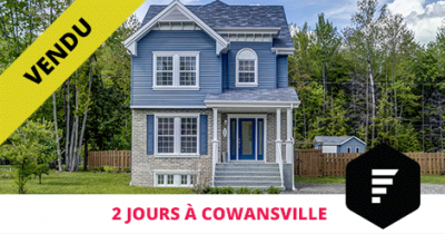 House sold in Cowansville - Flex Immobilier