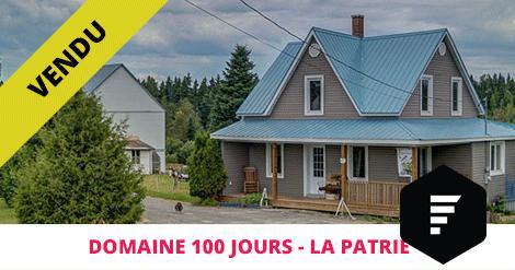 Testimonial Domain sold La Patrie