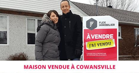 Duplex sold Cowansville Montérégie Flex Immobilier