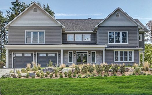 Maison de prestige à louer Sherbrooke Rock Forest Flex Immobilier Élévation avant