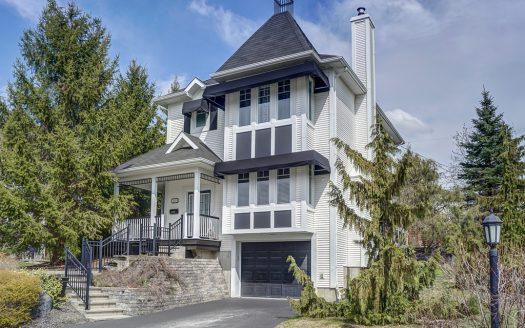 Maison à vendre rue_Murillo Sherbrooke Rock Forest Flex Immobilier Élévation avant