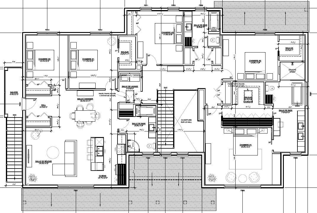 Plan du 2e étage