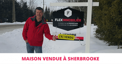 House sold in Sherbrooke Rock Forest Flex Immobilier