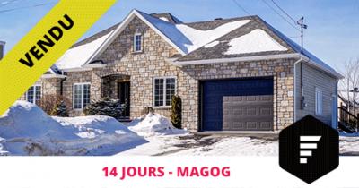 Maison bigénération vendue à Magog Flex Immobilier