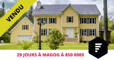 Maison de prestige vendue à Magog Estrie Flex Immobilier