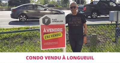 Condo vendu à Longueuil Flex Immobilier