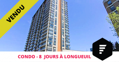 Condo sold in Longueuil Flex Immobilier