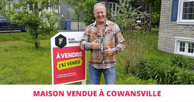 Maison à étages vendue à Cowansville Montérégie Flex Immobilier