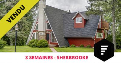 Maison vendue à Fleurimont Sherbrooke Flex Immobilier
