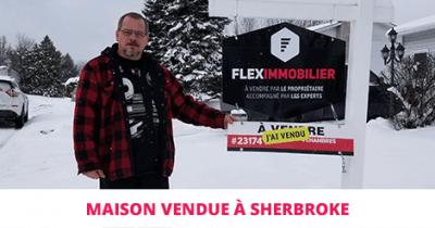 Maison vendue à Sherbrooke Fleurimont Flex Immobilier