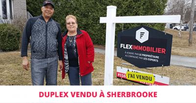 Duplex sold in Fleurimont Flex Immobilier