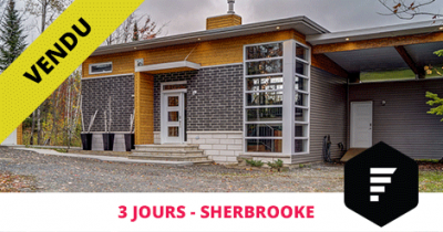 Bungalow sold in Sherbrooke Deauville Flex Immobilier
