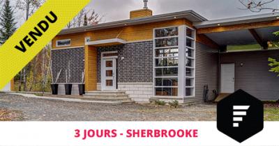Bungalow vendu à Sherbrooke Deauville Flex Immobilier