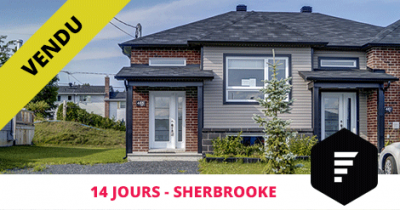 Semi-detached bungalow sold in Sherbrooke Mont Bellevue Flex Immobilier