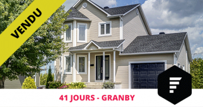 Cottage sold in Granby Flex Immobilier