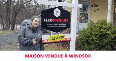 Maison vendue à Windsor Estrie Flex Immobilier