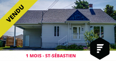House sold in St-Sébastien-de-Frontenac Estrie Flex Immobilier