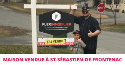 Maison vendue à St-Sébastien Estrie Flex Immobilier