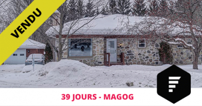 Bungalow sold in Magog Estrie Flex Immobilier