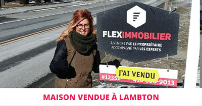 House sold in Lambton Eastern Townships Flex Immobilier