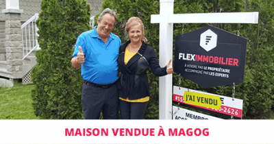 High-end house sold in Magog Flex Immobilier