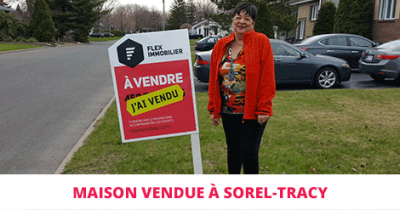 House sold in Sorel-Tracy Flex Immobilier