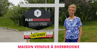 House sold in Bromptonville Sherbrooke Flex Immobilier