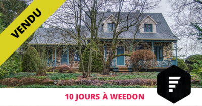 House sold in Weedon Estrie Flex Immobilier