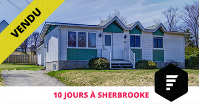 House sold in Sherbrooke Bromptonville Flex Immobilier