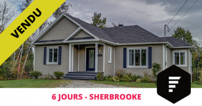Bungalow sold in Sherbrooke St-Élie-d'Orford Flex Immobilier