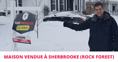 Cottage sold in Sherbrooke Rock Forest Flex Immobilier