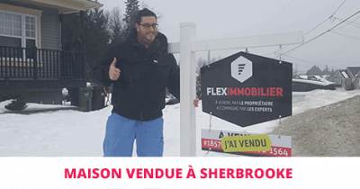 House sold in St-Élie-d'Orford Sherbrooke Flex Immobilier
