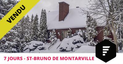 Maison vendue à St-Bruno-de-Montarville Flex Immobilier