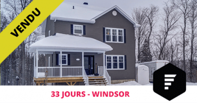 Cottage vendu à Windsor Flex Immobilier