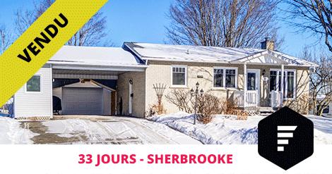 Bungalow vendu à Sherbrooke Fleurimont Flex Immobilier