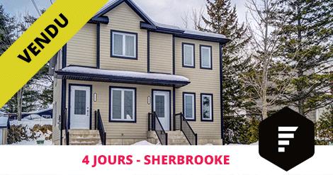 Duplex vendu Sherbrooke Deauville Flex Immobilier