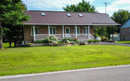 Cottage à vendre rue St-Joseph Roxton Falls Flex Immobilier Élévation avant
