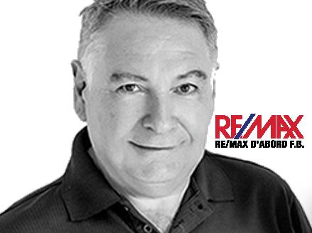 Fabrice Barré courtier immobilier agréé REMAX Sherbrooke Photo portrait
