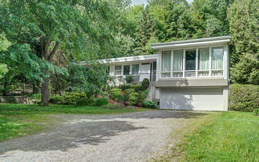 Maison à vendre rue Wilson Sherbrooke Jacques-Cartier Flex Immobilier Élévation avant