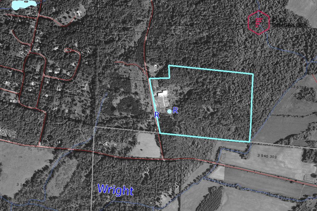 Plan du terrain - Géomatique CPTAQ