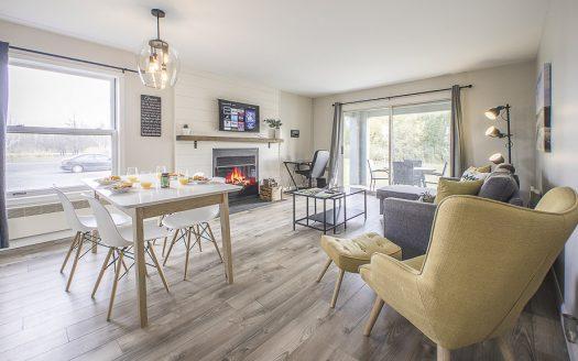 Condo en location court terme à louer Magog Flex Immobilier Airbnb C'est avec beaucoup de plaisir que nous vous présentons notre Condo OhMaGog 1