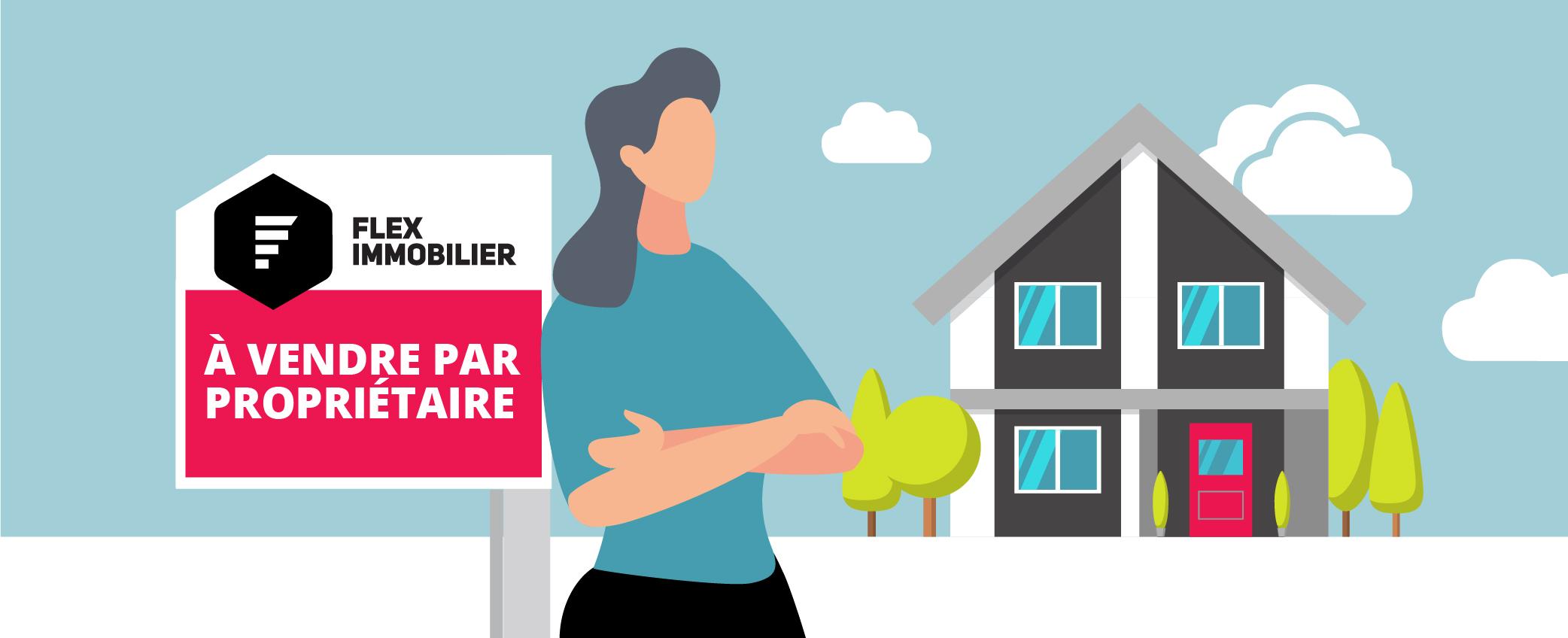 Fleximmobilier Maison à vendre ou à louer par propriétaire sans commission Forfait Visibilité