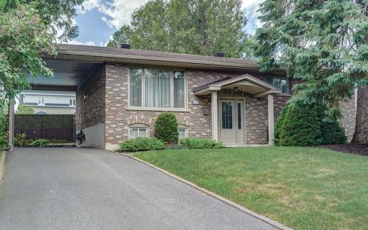 Maison à vendre secteur université Sherbrooke Flex Immobilier Élévation avant