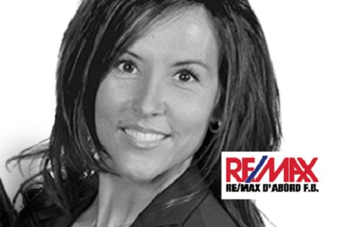 Sonia Beaulieu Courtier immobilier REMAX Sherbrooke Magog