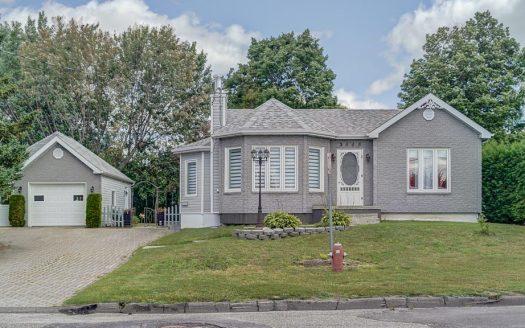 Maison plain-pied à vendre par propriétaire Lac-Mégantic Flex Immobilier Élévation avant