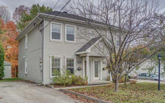 Duplex à vendre Sherbrooke Rock Forest Flex Immobilier Chaque niveau accueille un très grand logement de 4.5 pièces
