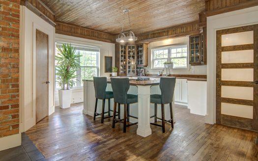Maison ancestrale de prestige à vendre Magog Estrie Flex Immobilier Cuisine (rez-de-chaussée)