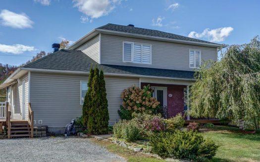 Maison bigénération à vendre Fleurimont Sherbrooke Flex Immobilier Élévation avant