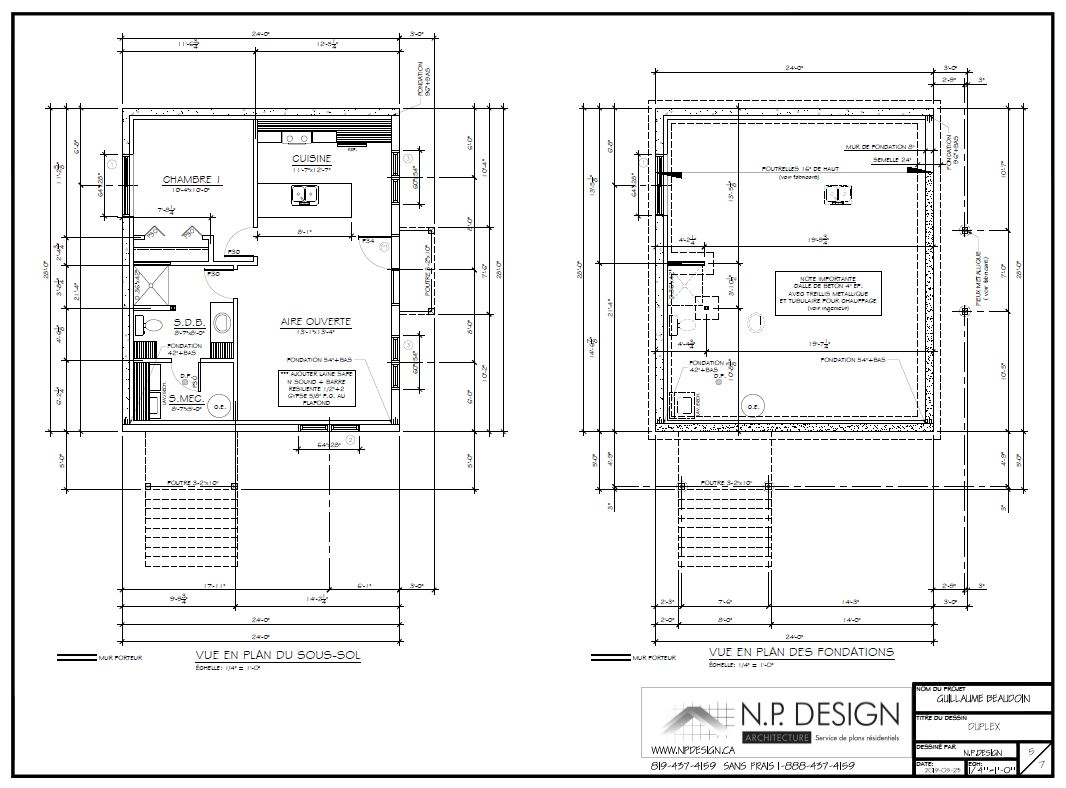 Plan du logement #63