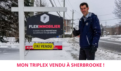 My triplex SOLD in sherbrooke
